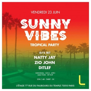Sunny Vibes // Tropical Party