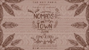 The Key Paris Presents : Nomads In Town With Juan & Simo Jettou